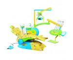 Детская стоматологическая установка QL-2028 CD FENGDAN с верхней подачей