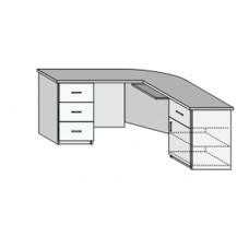 Стол сложной конфигурации