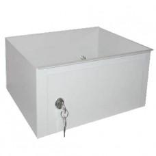 Шкаф медицинский металл. односекционный, одностворчатый (трейзер) (для шкафа МСК-646.01)
