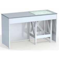 Стол лабораторный с подставкой для аналитических весов