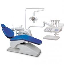 Стоматологическая установка AL 398 AA FOSHAN ANLEc верхней подачей инструментов