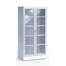 Шкаф лабораторный со стеклянными дверцами № 1