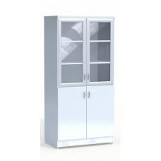 Шкаф лабораторный со стеклянными дверцами №2