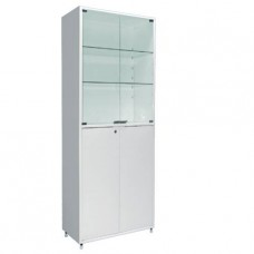 Шкаф металлический двухсекционный, двухстворчатый