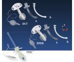 Shiley DCT, DFEN и PERC трахеостомические трубки с манжетой и сменными одноразовыми канюлями