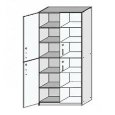 Шкаф материальный с замками