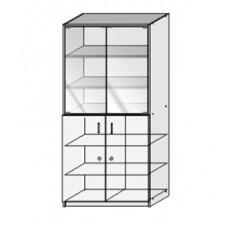 Шкаф для лабораторной посуды