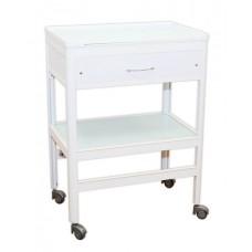Стол врача (поверхность - стекло, 1 ящик)
